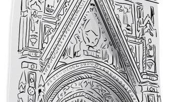 Dibujando la catedral de Florencia