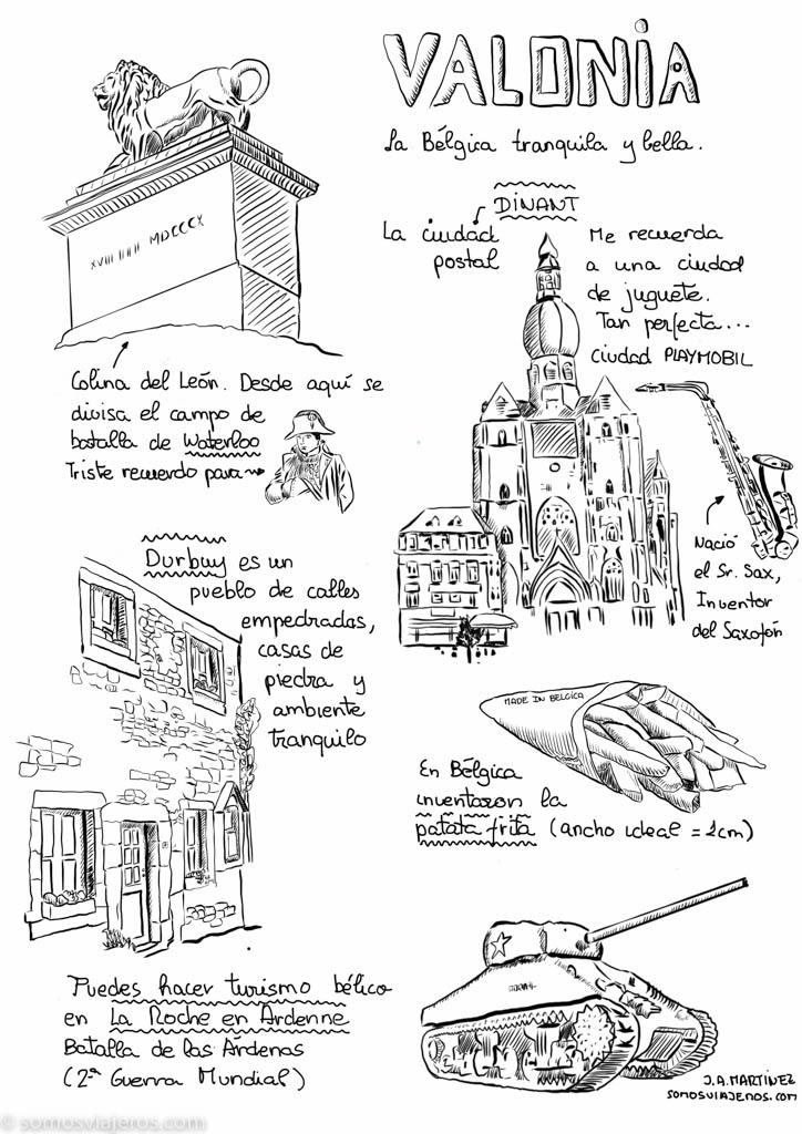 Ruta dibujada por Valonia
