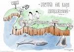 Ruta de las ballenas en el viaje a sudáfrica