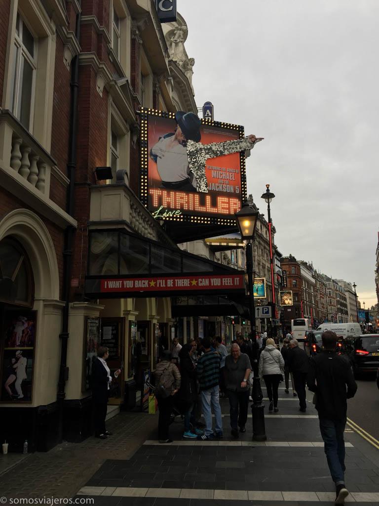 Teatro thriller en Londres
