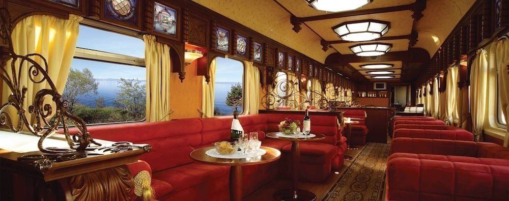 viajes en tren: golden eagle luxury