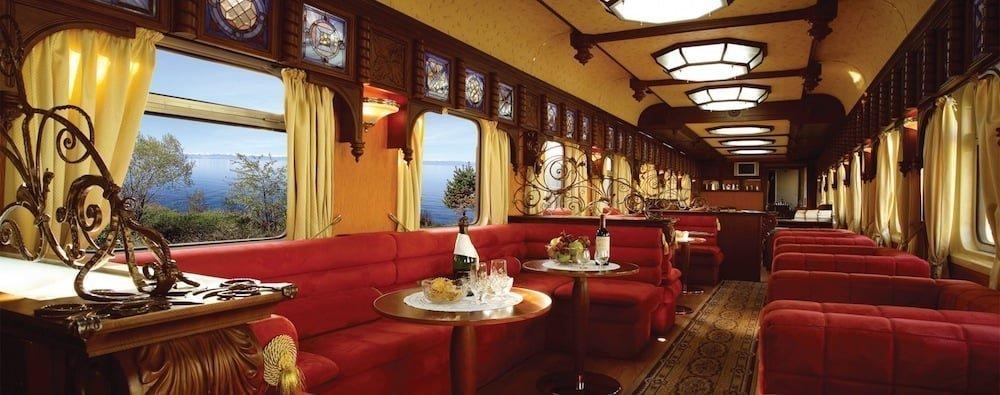 viajes en tren: golden eagle luxury