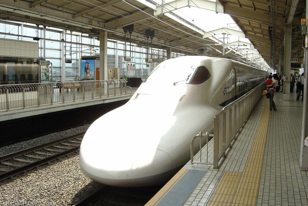 estación de shinkansen japonés