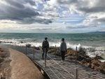 Viajar con niños a Salou – Camino de ronda del mar