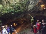 pirineo con niños - villanua - cueva guixas