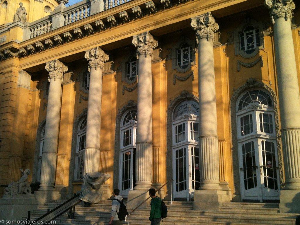 balneario en Budapest