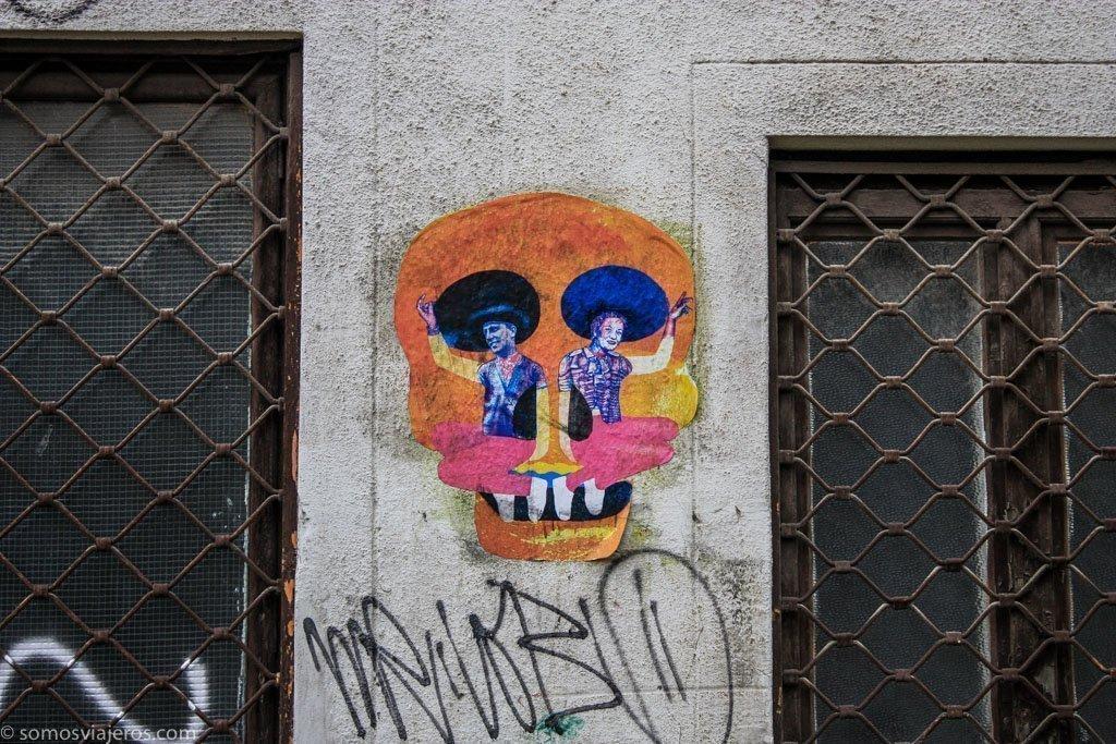 grafitis en budapest