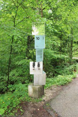 postes informativos en Hallstatt