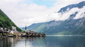 Austria con niños. Hallstatt: el pueblo más bonito del mundo con lago