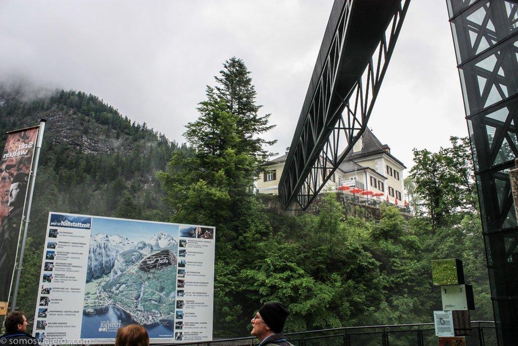 pasarelas en Hallstatt