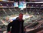 La experiencia de un partido de la NBA