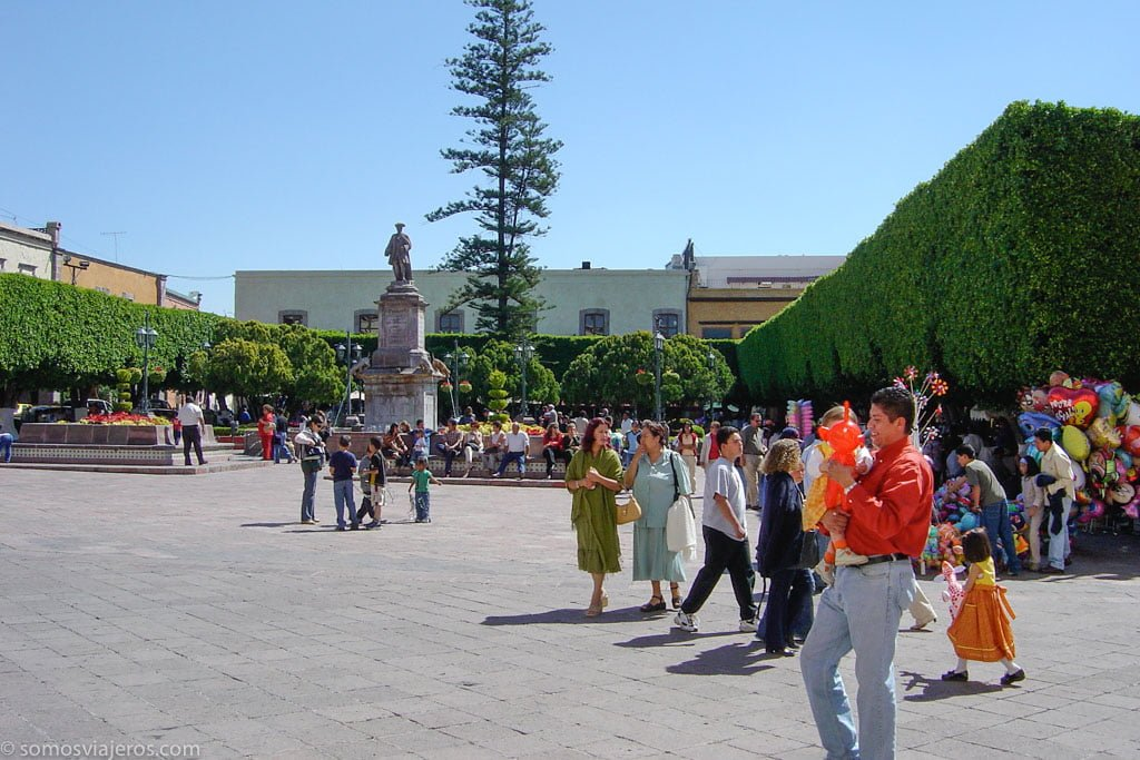 Plaza independencia de querétaro