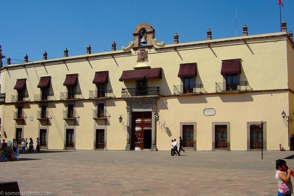 Plaza independencia de Querétaro