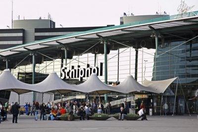 Aeropuerto de Schiphol en amsterdam