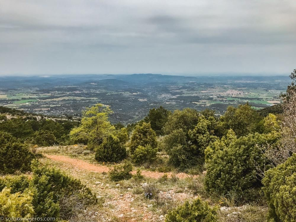 vista plana de Lleida
