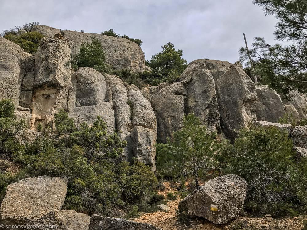 paredes de granito en Prades
