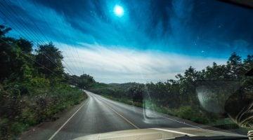 Viajar en coche con niños en vacaciones