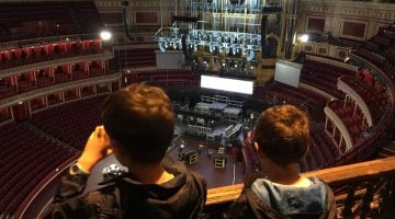 Londres con niños. Visitar el Royal Albert Hall