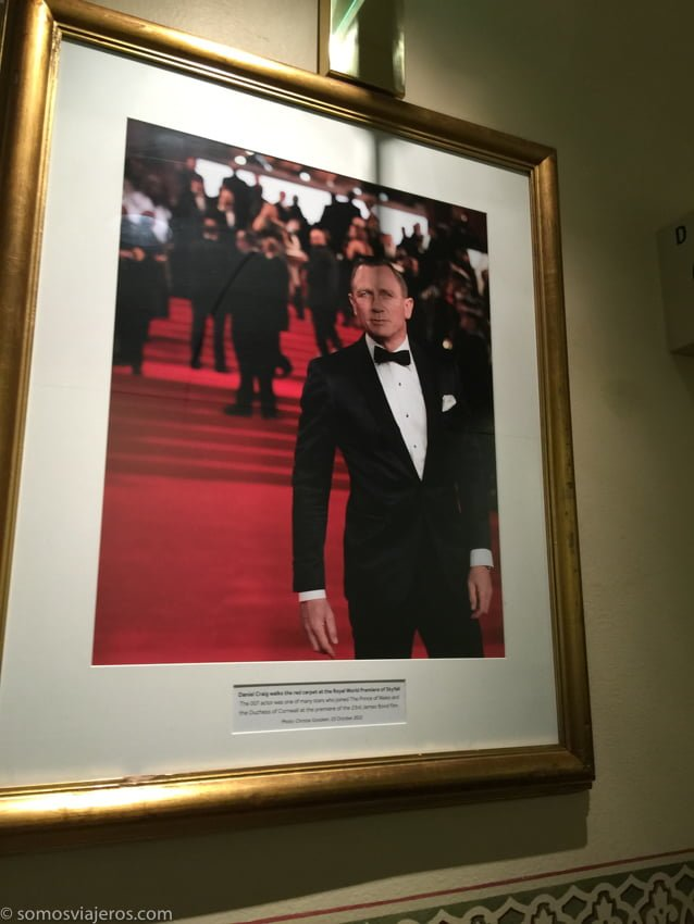 Estreno de James Bond en el Royal Albert Hall