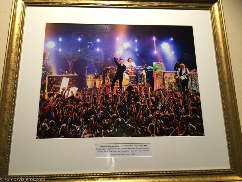 Killers en el Royal Albert Hall. Cuadro conmemorativo