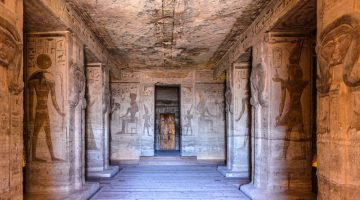Una periodista, Ramsés y el dios Ra. La historia de un momento.