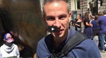 Videoblog. Tocar los testículos al toro de Wall Street