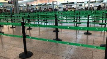 Evitar las colas en el aeropuerto de Barcelona pagando