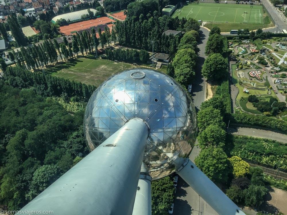 Vista desde el Atomium - terraza superior