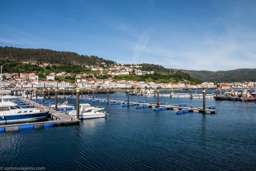 Puerto de Muros en Galicia