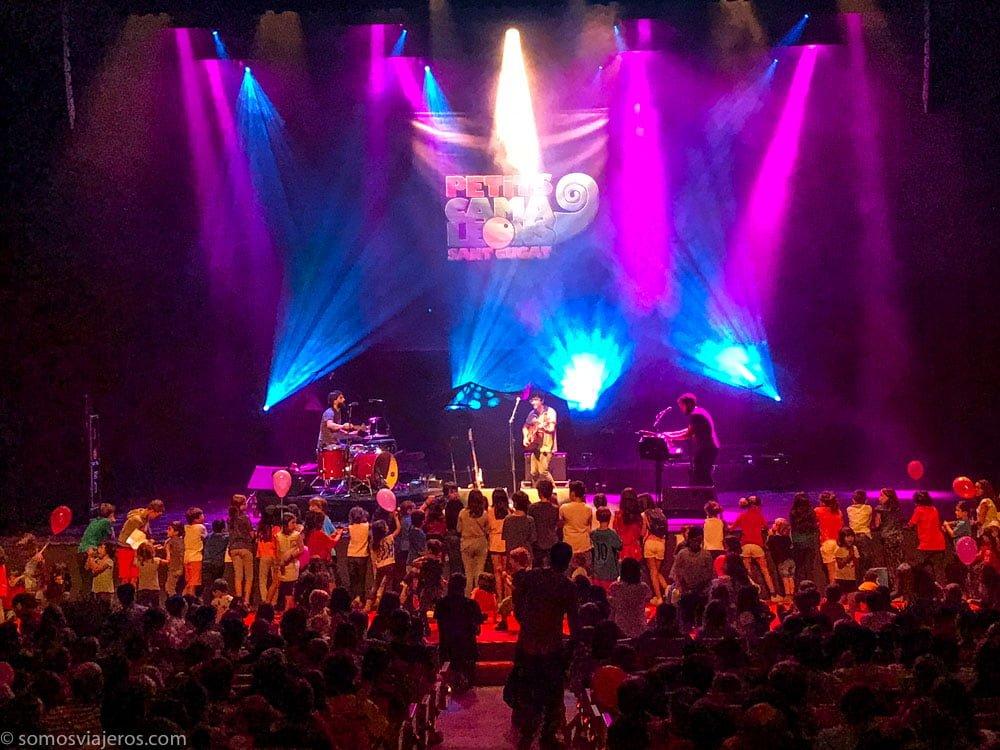 festival de música para niños petits camaleons. la iaia en concierto