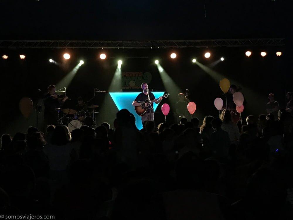 festival de música para niños petits camaleons. Balumut en concierto