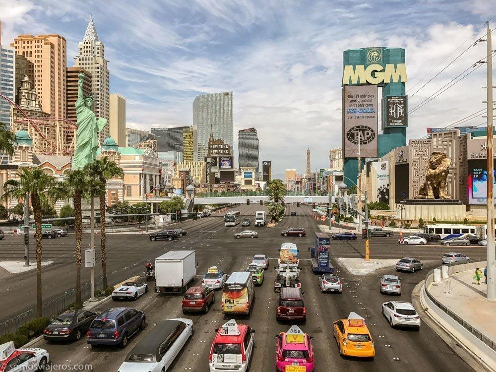 Las Vegas en la ruta por la costa Oeste de Estados Unidos