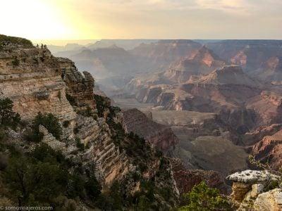 Ruta por la costa oeste de Estados Unidos - foto del gran Cañón del Colorado