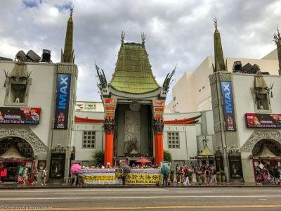 Teatro Chino en el paseo de la fama