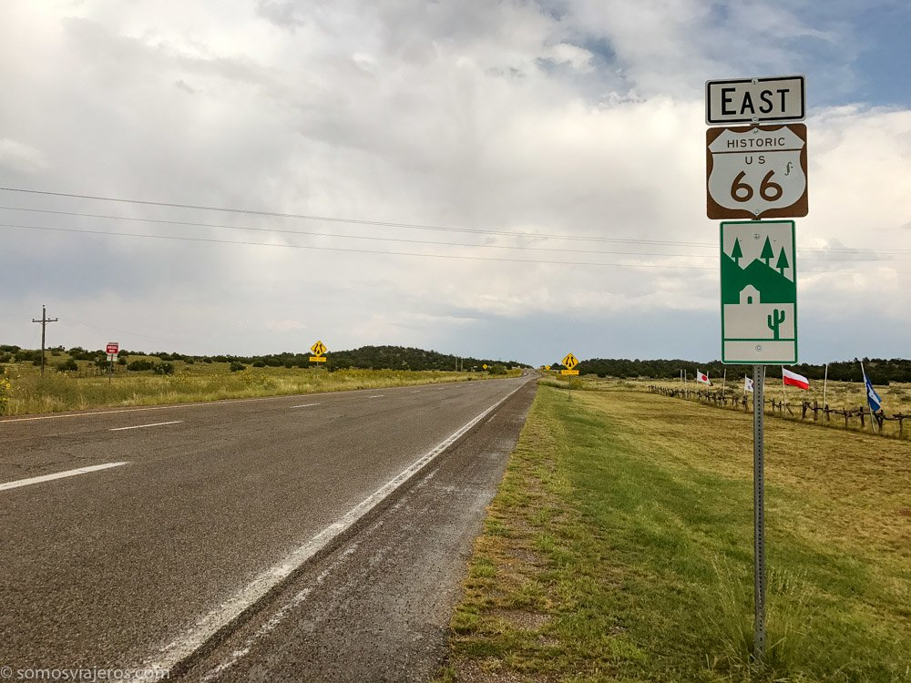 la ruta 66 en Estados Unidos. Una ruta histórica