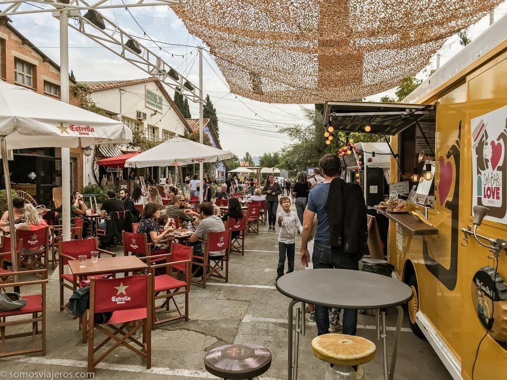 food trucks en mercantile de Sant Cugat