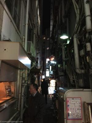 Calles de Tokyo en la noche