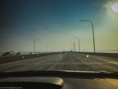 atravesando la bahía de San Francisco