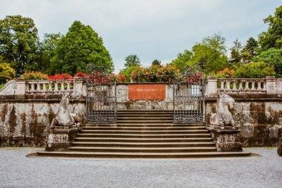 jardines mirabell-vista escalera película