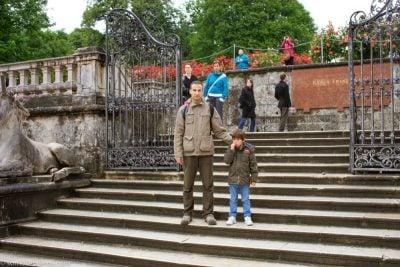 jardines mirabell-Pau y Juan Antonio