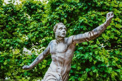 jardines mirabell- estatuas