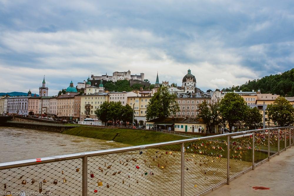 salzburgo-pasear por la ciudad de salzburgo - vista del rio
