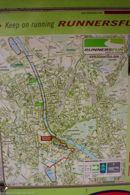 Ruta por el río en salzburgo