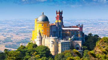 Palacio Nacional de la Pena en Sintra – Costa de Estoril