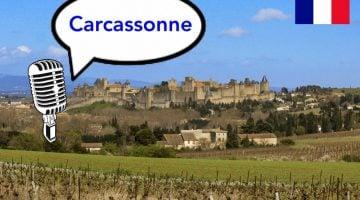 Carcassonne con niños. Podcast viajero y guía del viaje