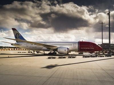 Avión dreamliner
