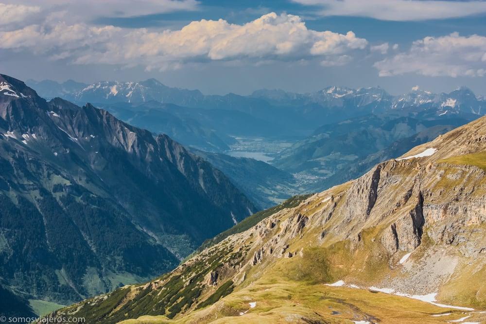 paisaje alpino carretera grossglockner