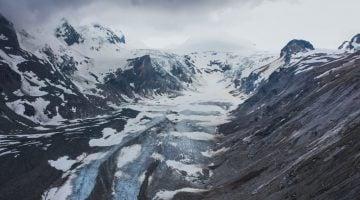 Austria con niños: El glaciar Pasterze