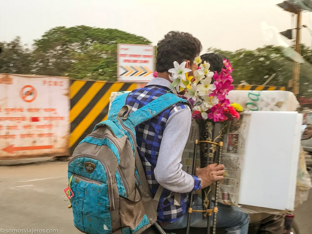 moto en la india
