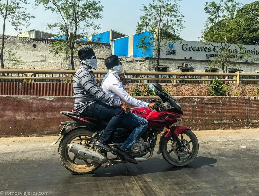 motos en la india